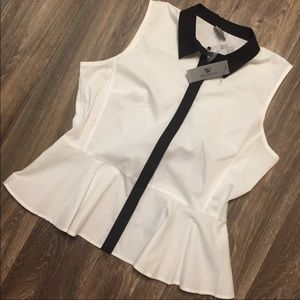 Worthington Peplum Top
